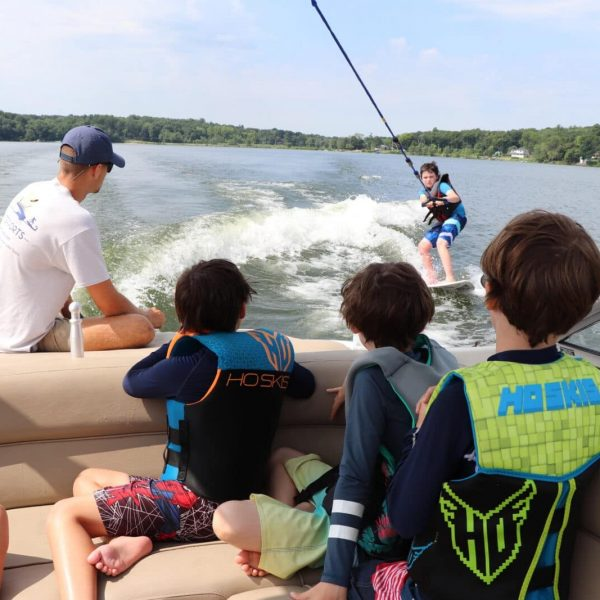 Kids Learning to WaterSki